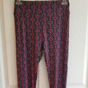BNWOT Lularoe leggings Eye Pattern